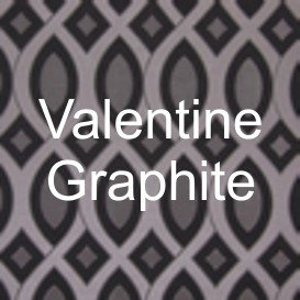 Valentine Graphite Fabric