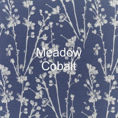 Meadow Cobalt Fabric