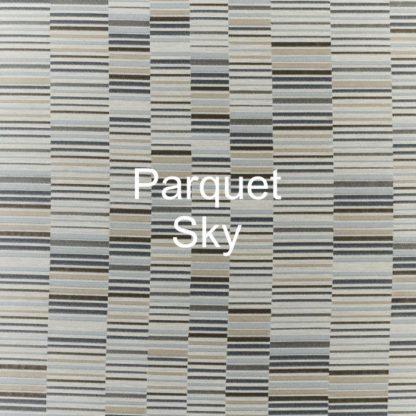 Parquet Sky Fabric