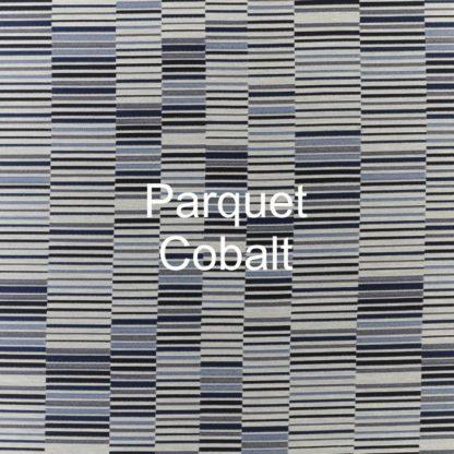 Parquet Cobalt Fabric
