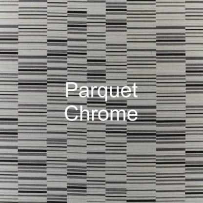 Parquet Chrome Fabric