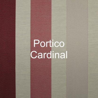 Portico Cardinal Stripe Fabric