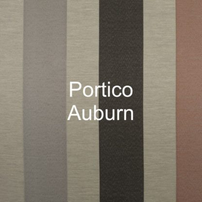 Portico Auburn Stripe Fabric