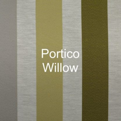 Portico Willow Stripe Fabric
