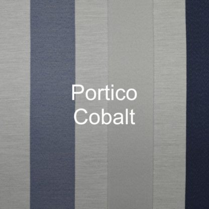 Portico Cobalt Stripe Fabric