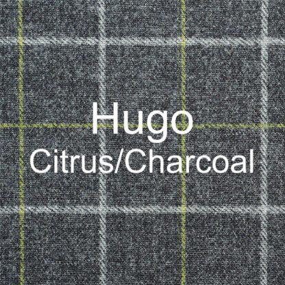 Hugo Citrus/Charcoal Fabric