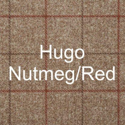 Hugo Nutmeg/Red Fabric