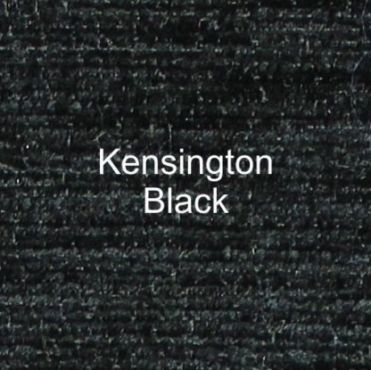 Kensington Black Fabric