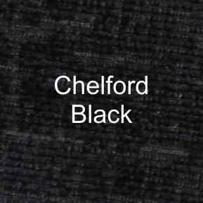 Chelford Black Fabric
