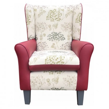 york olive blossom wingback chair