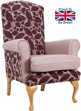 Queen Anne Bedroom Orthopedic Chair
