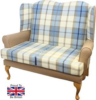 Queen Anne Two Seater Settee