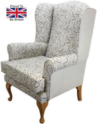 Queen Anne Silk Road Orthopedic Chair in White