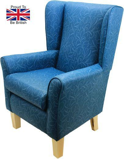 Orthopedic York Silk Road Full Covering High Seat Chair