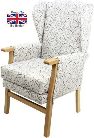 Newark Silk Road Fireside Orthopedic Chair Side View