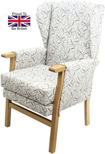 Newark Silk Road Fireside Orthopedic Chair Side View