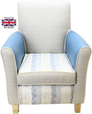 Guiseley High Seat Chair - Blue Crayon