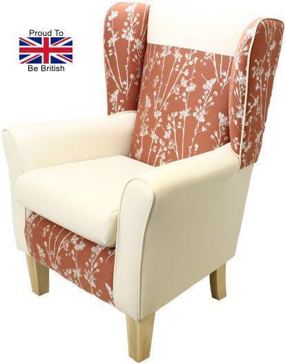 Orthopedic Chair - York Meadow High Seat Chair - brown