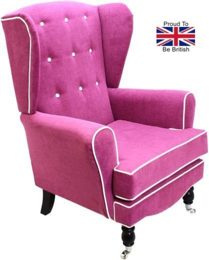Dovedale Cashmir Orthopedic Wingback Chair