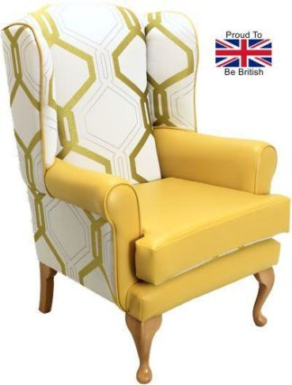 Queen Anne Orthopedic High Seat Chair - Honeycomb