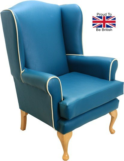 Queen Anne Paintbox Orthopedic High Seat Chair - Blue