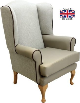 Queen Anne Orthopedic Chair - Beige