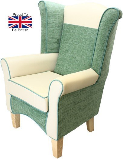 Pisa Juno Cream Faux Leather Orthopedic Chair