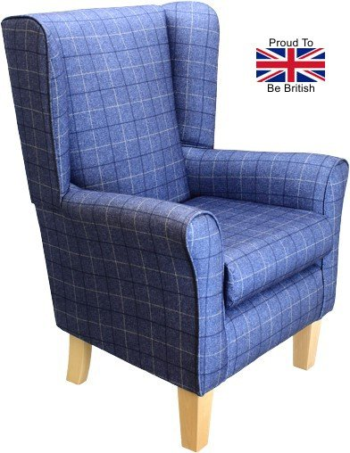 York Hugo Ink Orthopedic High Seat Chair