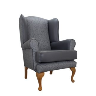 Queen Anne Silk Road Orthopedic High Back Chair