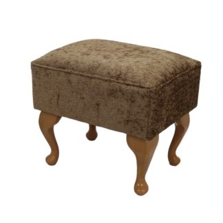York Deluxe - Queen Anne - Matching Footstool