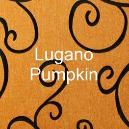 Lugano Pumpkin Fabric