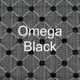 Omega Black Fabric