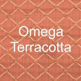 Omega Terracotta Fabric