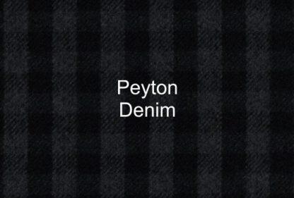 Peyton Denim Check Fabric
