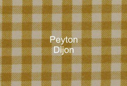 Peyton Dijon Check Fabric