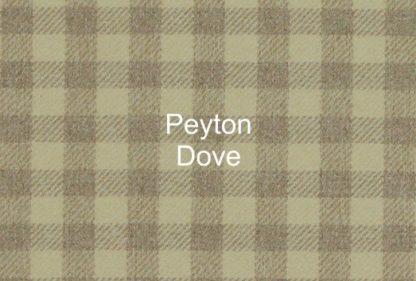 Peyton Dove Check Fabric