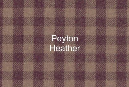 Peyton Heather Check Fabric