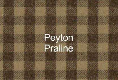 Peyton Praline Check Fabric