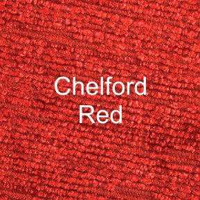 Chelford Red Fabric