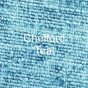Chelford Teal Fabric