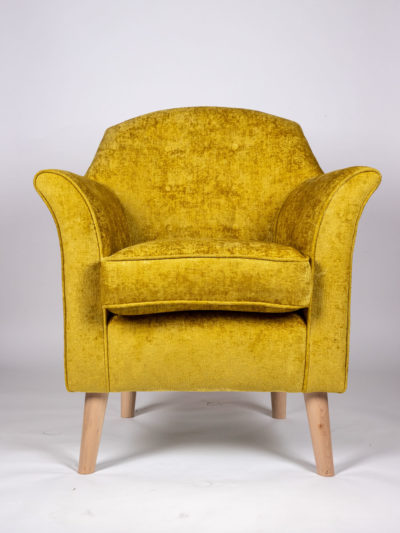 The Alfie in Endeavour mustard
