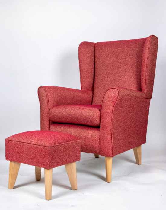 The Howard Chair with Footstool SALE