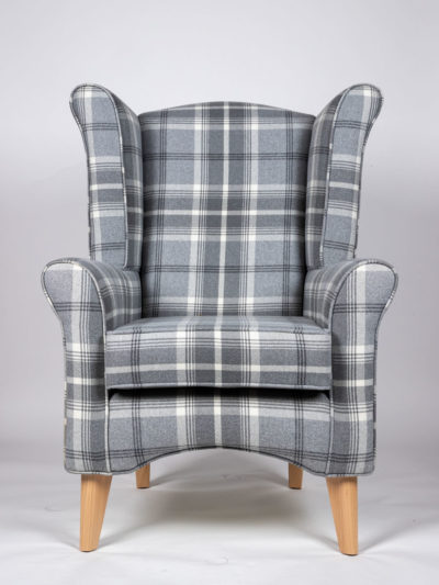 The Jacob Chair in balmoral Dove grey