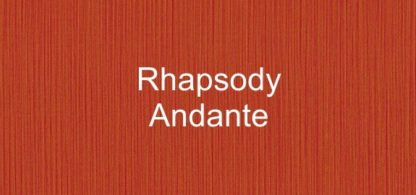 Rhapsody Andante Fabric
