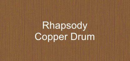Rhapsody Copper Drum Fabric