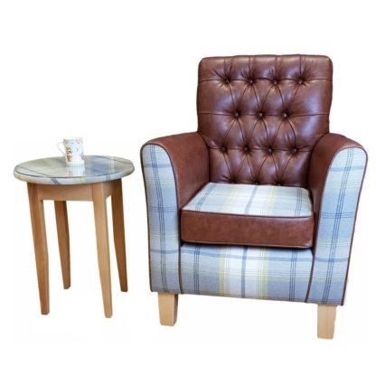 Loch Lomond orthopedic wingback chair