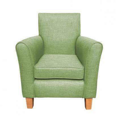 guiseley chair lime front view
