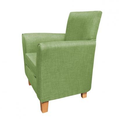 guiseley chair lime side view