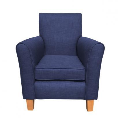 guiseley chair midnight front view