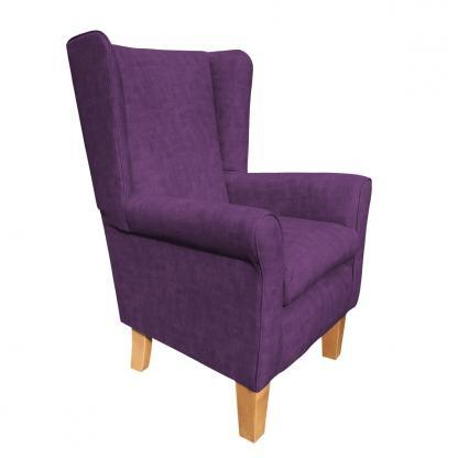 york chair estoril purple heather side view